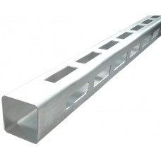 ALUMINIUM EASY LOUVRE STRAIGHT 20mm GAP CORNER - CODE# 50RSC