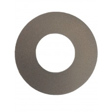 ALUMINIUM COVER PLATE ROUND SILVER 1.2mm THICK - CODE# CPROUNDPS