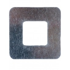 ALUMINIUM COVER PLATE SQUARE MILL 1.2mm THICK - CODE# CPSQUARE