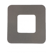 ALUMINIUM COVER PLATE SQUARE SILVER 1.2mm THICK - CODE# CPSQUAREPS
