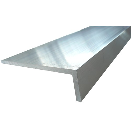 Aluminium Heavy Angle 125 X 50 X 3mm Mill Finish