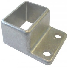 ALUMINIUM CAST SHROUD FIT 38 x 25mm RECTANGLE  - CODE# CS