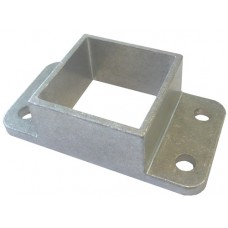 ALUMINIUM CAST SHROUD FIT 40mm SQUARE  - CODE C40