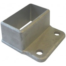 ALUMINIUM CAST SHROUD FIT 50 X 25MM RECTANGLE  - CODE C5025