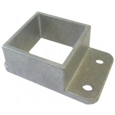 ALUMINIUM CAST SHROUD FIT 40mm SQUARE  - CODE C41