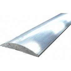 ALUMINIUM D-MOULDING 25.4mm - CODE# DM25