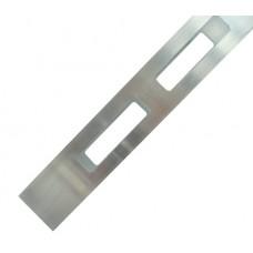 ALUMINIUM EASY LOUVRE STRAIGHT 20mm GAP DOUBLE - CODE# 40SSD