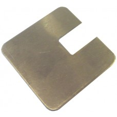 ALUMINIUM FLAT CAP SQUARE 50 x 50mm 1 WAY MILL - CODE# FCSN1