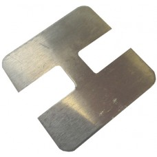 ALUMINIUM FLAT CAP SQUARE 50 x 50mm 2 WAY MILL - CODE# FCSN2