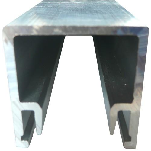 Aluminium Glazing Channel 28x28mm