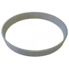 ALUMINIUM OVAL RING 125 x 2.25 x 100 x 18mm - CODE# RINGOV