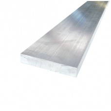 ALUMINIUM RECTANGLE SOLID 100 x 25mm 6061 - CODE# RS610025