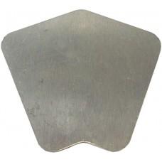 ALUMINIUM FLAT CAP SQUARE 135 DEGREE CORNER MILL - CODE# FCS135