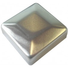 ALUMINIUM RAISED CAP SQUARE 50 x 50mm MILL - CODE# ACSM