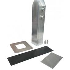 ALUMINIUM SQUARE GLASS CLAMP CORE DRILL - CODE# SECLAMP