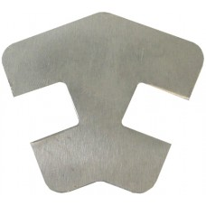 ALUMINIUM FLAT CAP 2 WAY SQUARE 135 DEGREE CORNER MILL - CODE# FCSN135