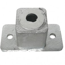 ALUMINIUM CAST 2 x HOLE POST CONNECTOR - CODE# 2SPC