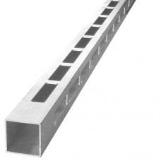 ALUMINIUM EASY LOUVRE STRAIGHT 8mm GAP CORNER - CODE# 408SC