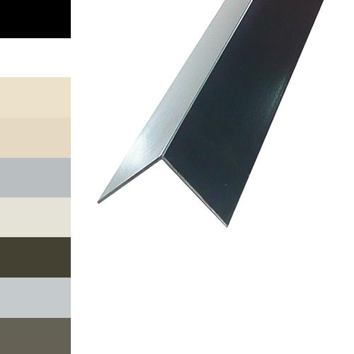 Aluminium Trim Angle 20 X 20 X 1 6mm Coloured