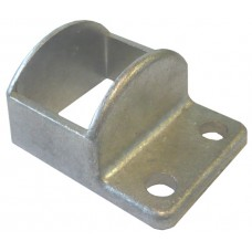 ALUMINIUM CAST SHROUD FIT 38 x 25mm RECTANGLE  - CODE# CV