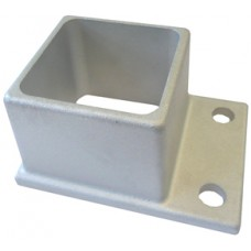 ALUMINIUM CAST SHROUD FIT 50mm SQUARE  - CODE C51