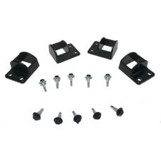 ALUMINIUM CAST SHROUDS KIT FIT 38 x 25mm RECTANGLE with screws  - CODE# CVBP