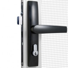 DORIC HINGED SECURITY SCREEN DOOR LOCK - CODE# D2
