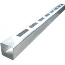 ALUMINIUM EASY LOUVRE STRAIGHT 20mm GAP SINGLE - CODE# 50RSS