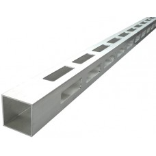 ALUMINIUM EASY LOUVRE STRAIGHT 20mm GAP CORNER - CODE# 40SSC