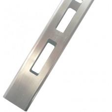 ALUMINIUM EASY LOUVRE STRAIGHT 20mm GAP DOUBLE - CODE# 50RSSD