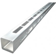 ALUMINIUM EASY LOUVRE STRAIGHT 8mm GAP CORNER - CODE# 50R8SC