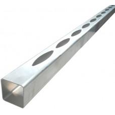 ALUMINIUM EASY LOUVRE STRAIGHT 20mm GAP SINGLE - CODE# 50SS