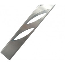 ALUMINIUM EASY LOUVRE ANGLED 10mm OVERLAP DOUBLE - CODE# 50AT