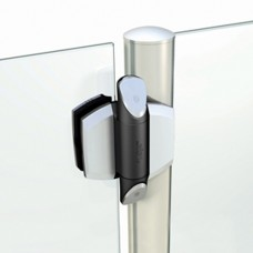 VIZAGE ARCHITECTURAL HINGES FOR ROUND POST FENCES AND GLASS GATES - CODE# TCAV1BSS