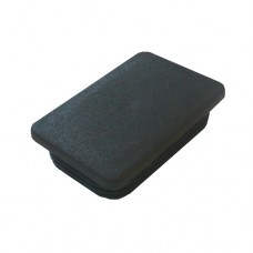 PLASTIC 75 x 50mm RECTANGLE CAP - CODE# PEC7550