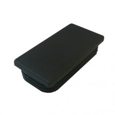 PLASTIC 80 x 40mm RECTANGLE CAP - CODE# PEC8040