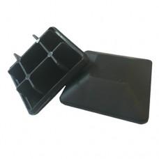 PLASTIC 50 x 50mm SQUARE CAP RAISED - CODE# PCAP