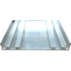 ALUMINIUM SIGN BOX 150mm - CODE# SBOX150