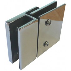 FRAME LESS GLASS FENCING LOCK FIXING PLATE - CODE# NEP-L001
