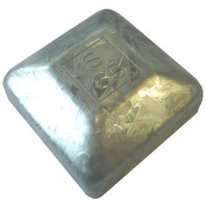 STEEL 65 x 65mm SQUARE CAP EXTERNAL - CODE# 65CAPM