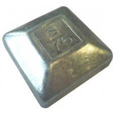 STEEL 75 x 75mm SQUARE CAP EXTERNAL - CODE# 75CAPM